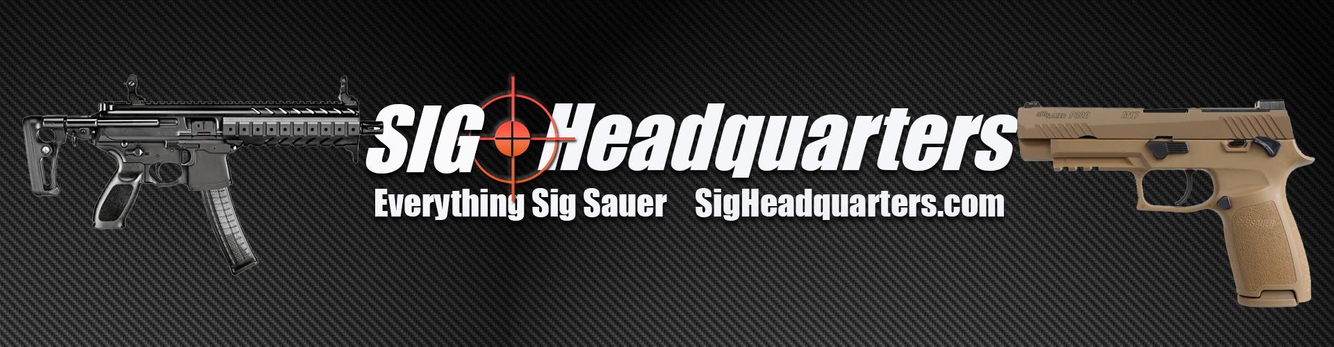 Sig Sauer Firearms